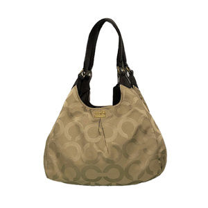 COACH Madison Maggie Op Art Hobo 21125M *MINT*
